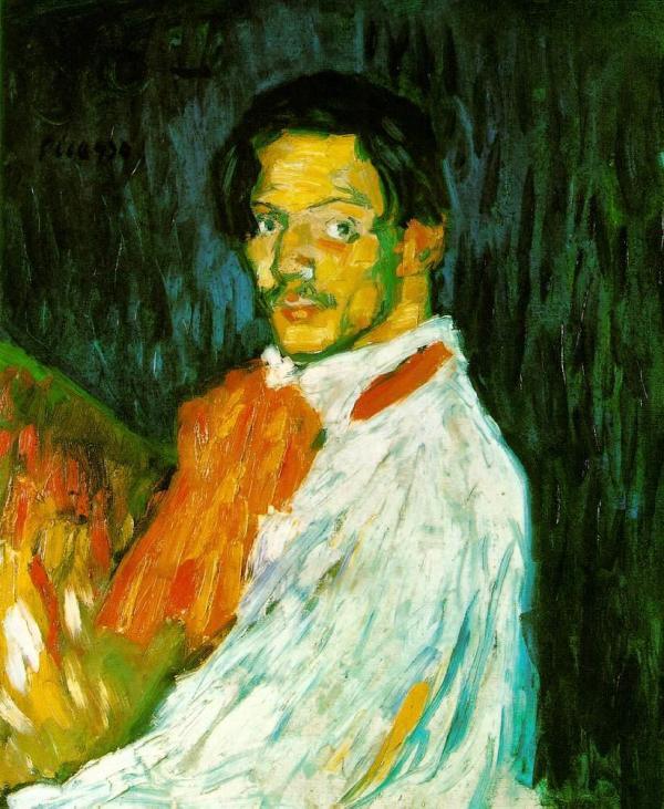 Pablo Picasso Self Portrait