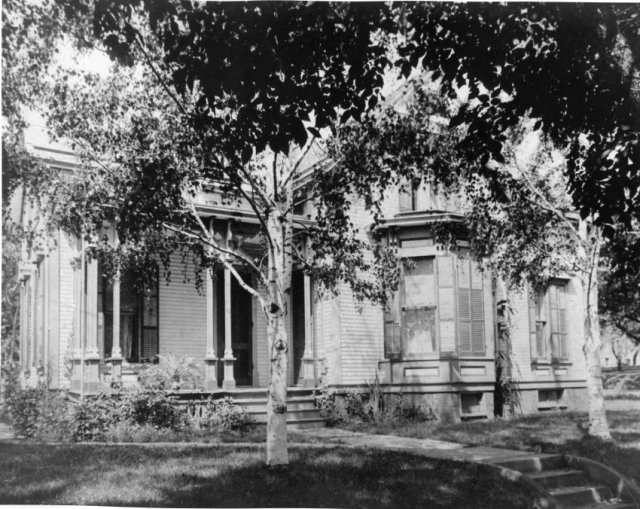 A. J. Armitage home at 614 N. Spruce- prior to remodeling