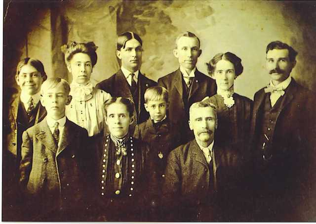 Amasa Jeffcoat Family 1894