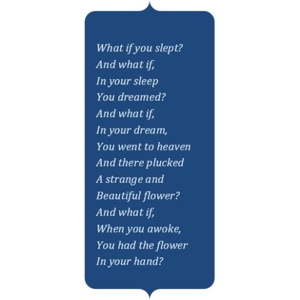 Samuel Coleridge poem