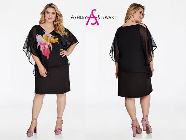 Ashley Stewart Women's Plus Size Little Black Dresses