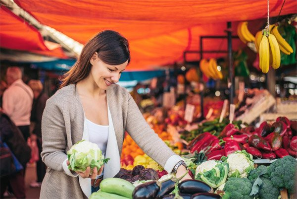Eat More Vegetables and Fruits to Lose Weight