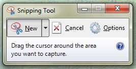 Take a Picture of Partial Screen, A Part of Computer Screen or A Specific Area of Desktop