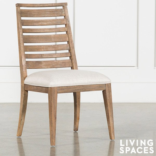 Living Spaces Discounted Side Chair