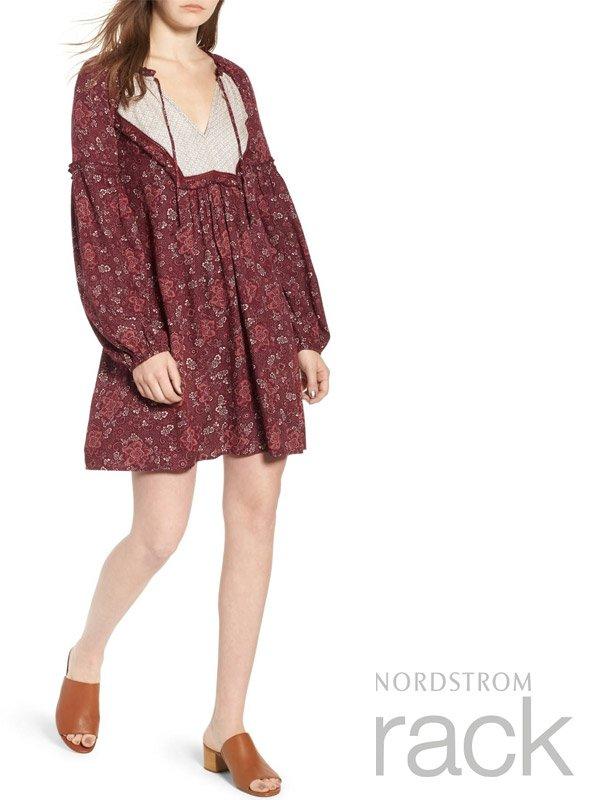 Nordstrom Rack Mix Print Casual Dress for Summer