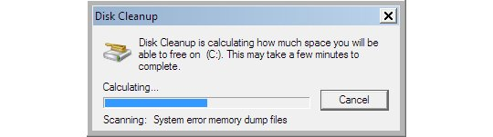 Scanning for System Error Memory Dump Files
