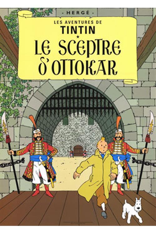 Ottokars Scepter tintin
