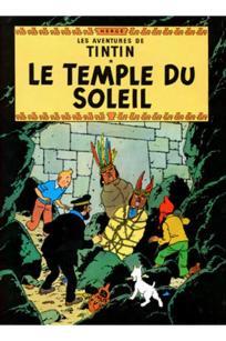 Tintin - soltemplet - Hergé