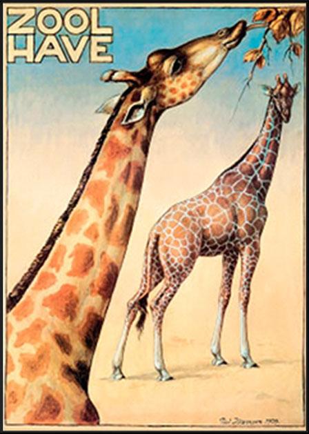 Zoologisk have - giraffer - Poul Jørgensen