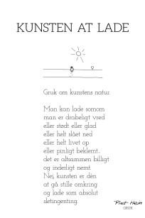 Piet Hein - Gruk - Kunsten at lade