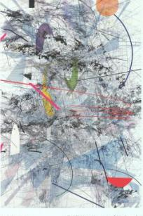Julie Mehretu - Easy Dark