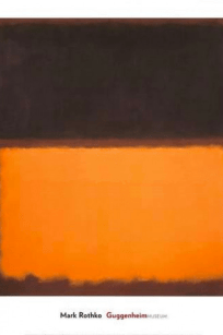 Mark Rothko - Guggenheim - no title - brown - orange