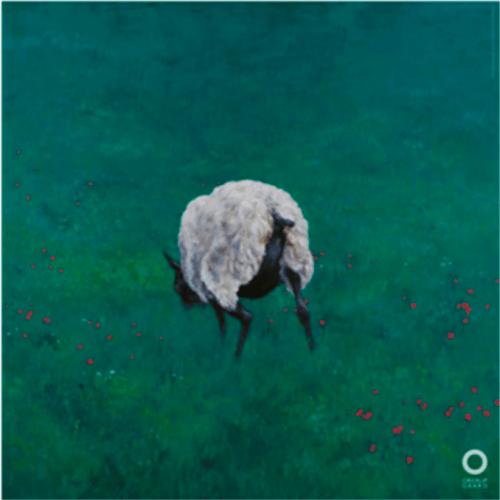 Michael Kvium - Lunch 1 - Det grønne får