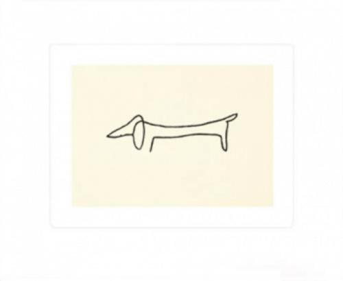 Pablo Picasso: Le Chien - Hunden