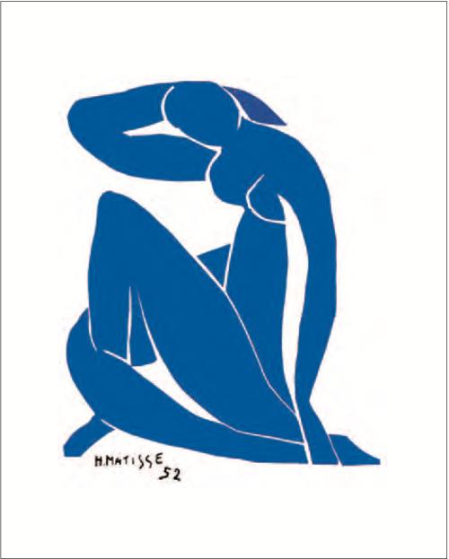 Henri Matisse Nu bleu II