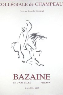 Jean Bazaine Collégiale de Champeaux i 1985