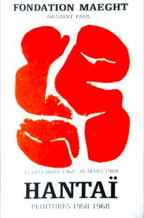 Simon Hantaï peintures 1958 - 1968