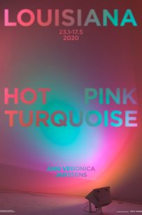ann veronica janssens hot pink turquoise 2