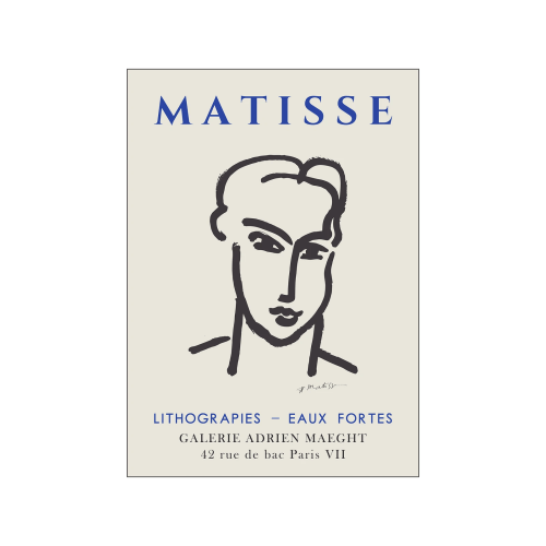 Henri Matisse - Line Face