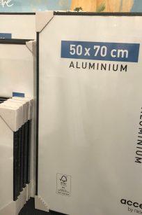 Plakaten Aarhus - skifterammer aluminium
