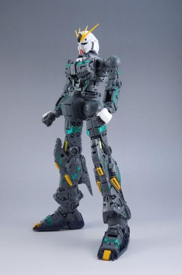ガンプラ【MG νガンダム Ver.Ka】レビューその④ 腰部及び脚部内部フレーム制作