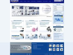 Olympus Optics site for their medical division