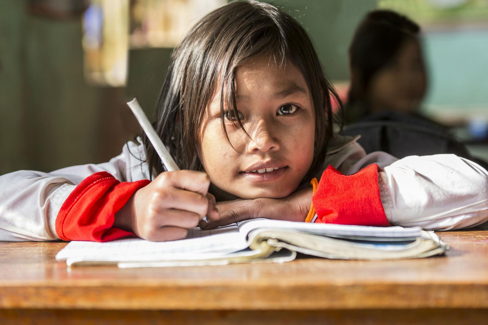 Lee las cartas de niños apadrinados | ONG Plan International