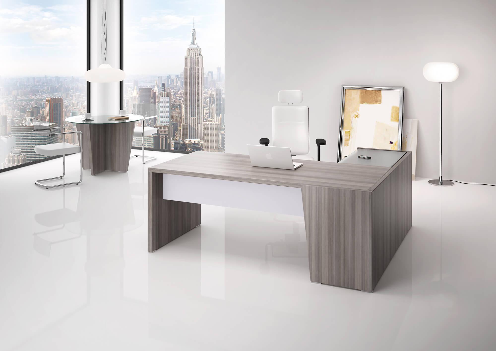 Executive Desk With Return