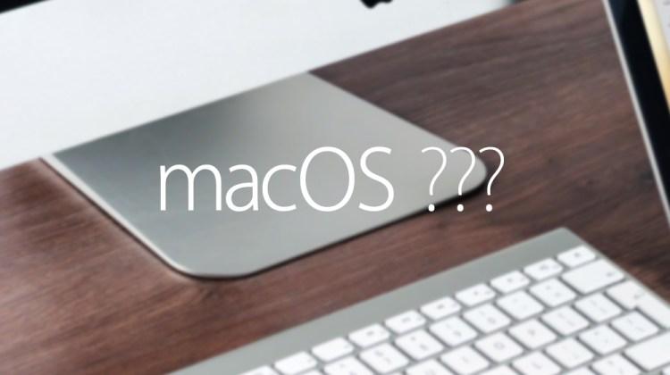 macOSのSierraが発表されたし次のOSの名前を予言する