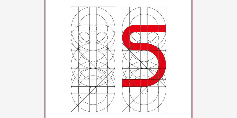 Sのフォント設計図
