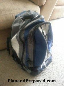 bug out bag, get home bag, go bag