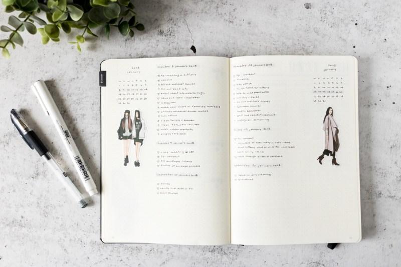 Taking a Break from your Bullet Journal
