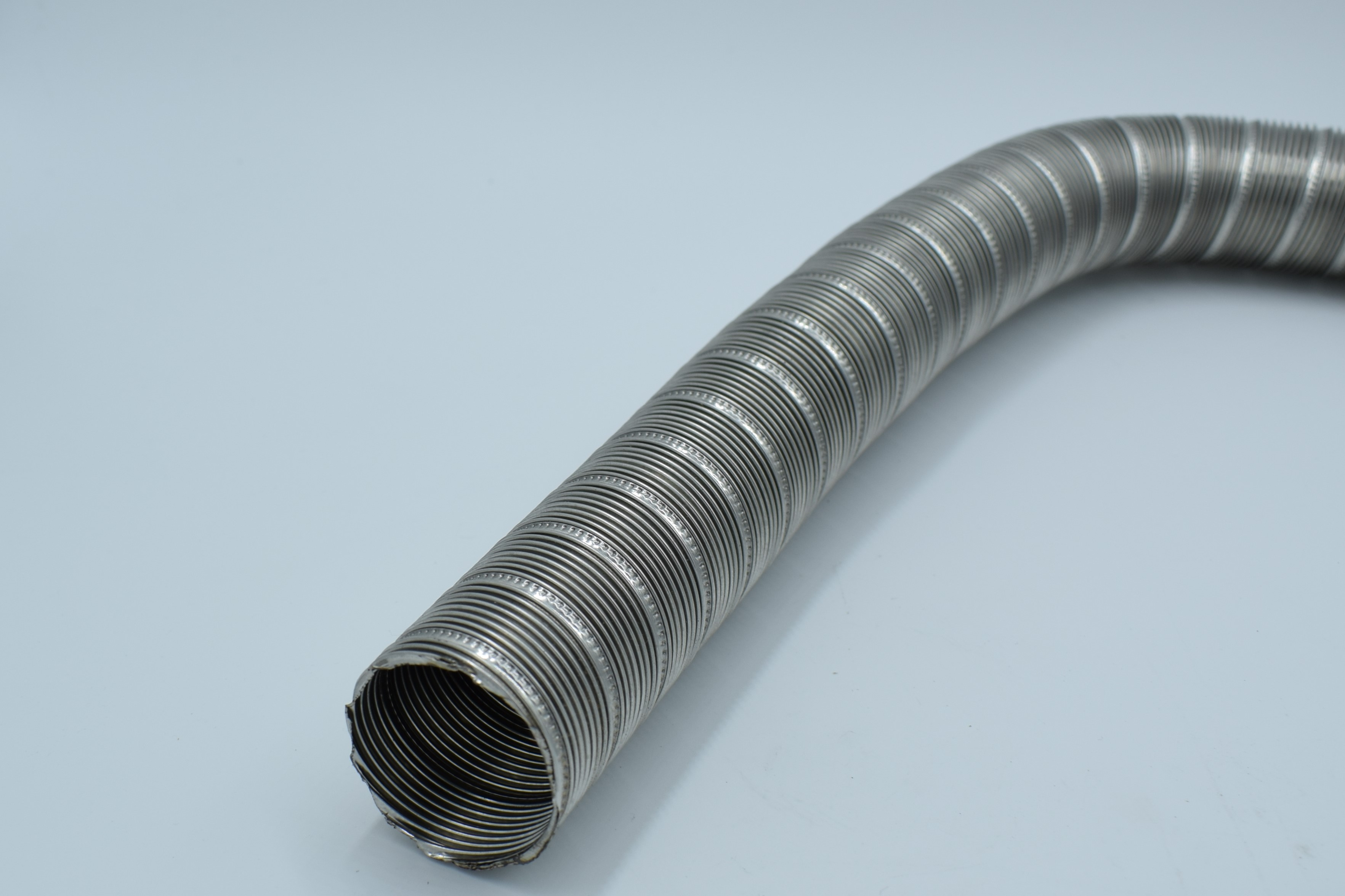 p38 022 exhaust hose 38 mm stainless steel