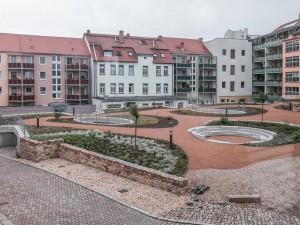 Merseburg, Tiefer Keller, Aussenanlagen