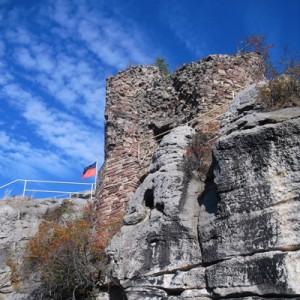 2013, Blankenburg im Harz, Aussichtspunkt: Burg Regenstein