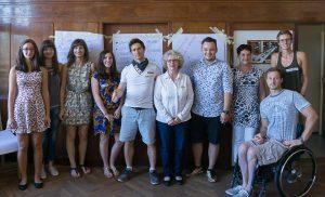 Das Organisationsteam vom Jugendbarcamp in Rodewisch, 2016