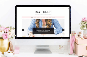 Bluchic Isabelle Wordpress Theme