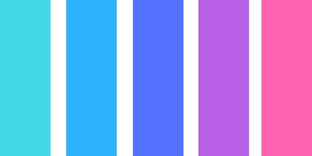 Branding color palette.