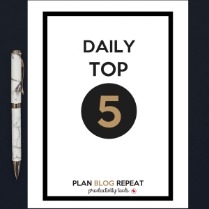Daily Top 5