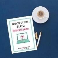 Quickstart Blog Business Plan