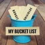 Bucket List Vision Board Ideas