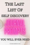 list of self discovery journal prompts