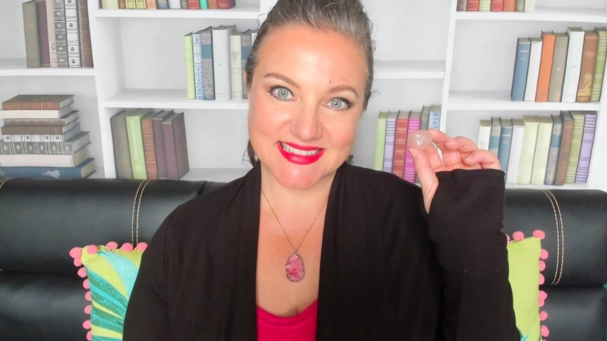 How To Manifest With Crystals Deanna Castro With Rose Quartz