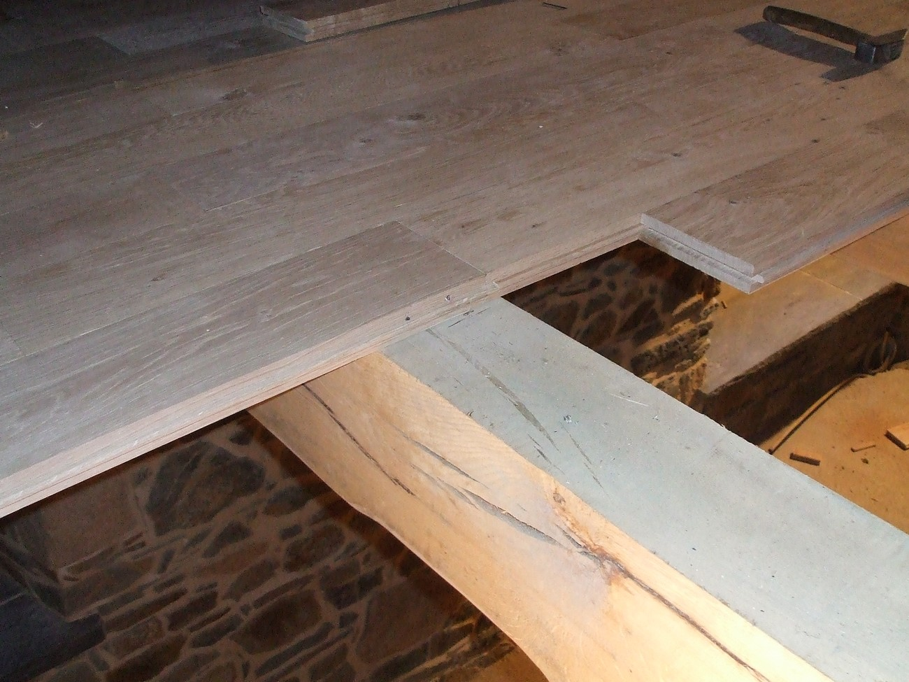 plancher chene massif