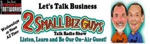 Our CPC is Co-Host of 2 Small Biz Guys talk radio show. Listen in On-Demand.