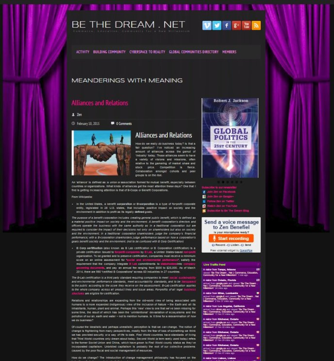 bethedream.net