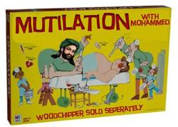 Mutilation with Mohammed toy- Muslim Gifts for Christmas