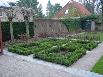 Privé tuin, Breda