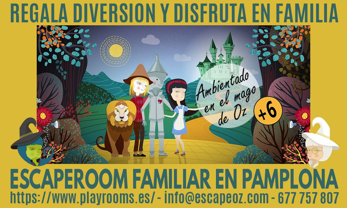 escaperoom Oz Pamplona