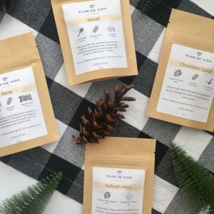 Herbal Tea Stocking Stuffers Set